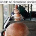 Cuando se alinean los planetas