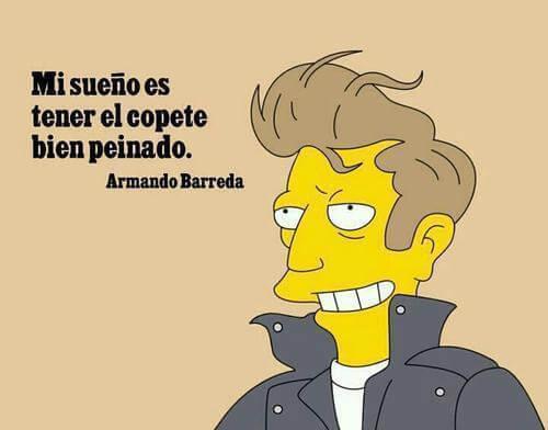Queremos ser como Armando Barreda
