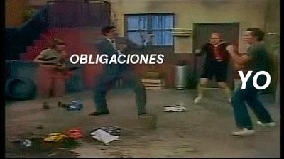 Yo vs obligaciones