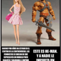 Barbie vs He-Man