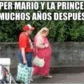 Super mario y la princesa