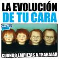 La evolucion de tu cara