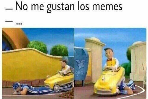 No me gustan los memes