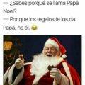Porque se llama Papa Noel