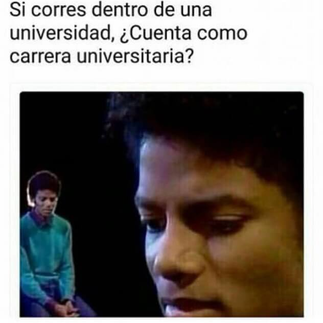 Si corres dentro de una universidad