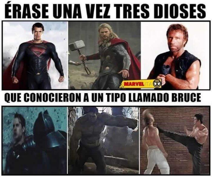 Dioses vs Bruce