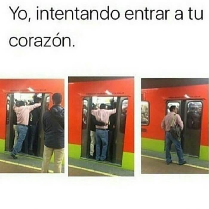 Intentando entrar a tu corazon