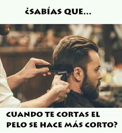 Sabias que cuando te cortas el pelo