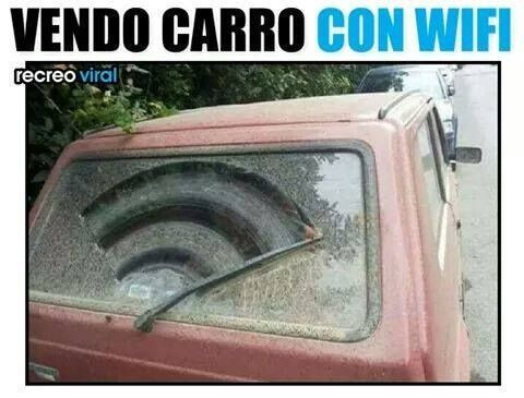 Se vende carro con Wifi