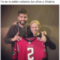 Ya se le estan notando los años a Shakira