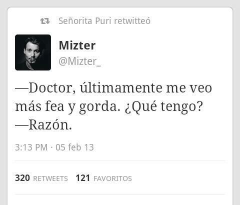 Cuando el doctor es demasiado honesto