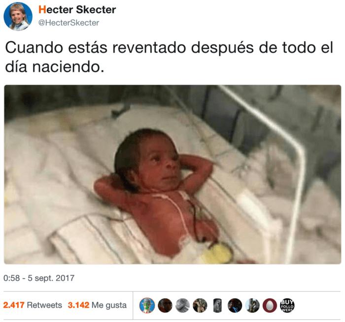 Cuando estas cansado de nacer durante todo el dia