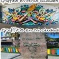 Graffitis en otras ciudades vs la mia
