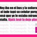 La señora del bus