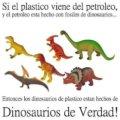 La verdad de los plasticos de dinosaurios