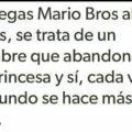 Si juegas Mario Bros al reves
