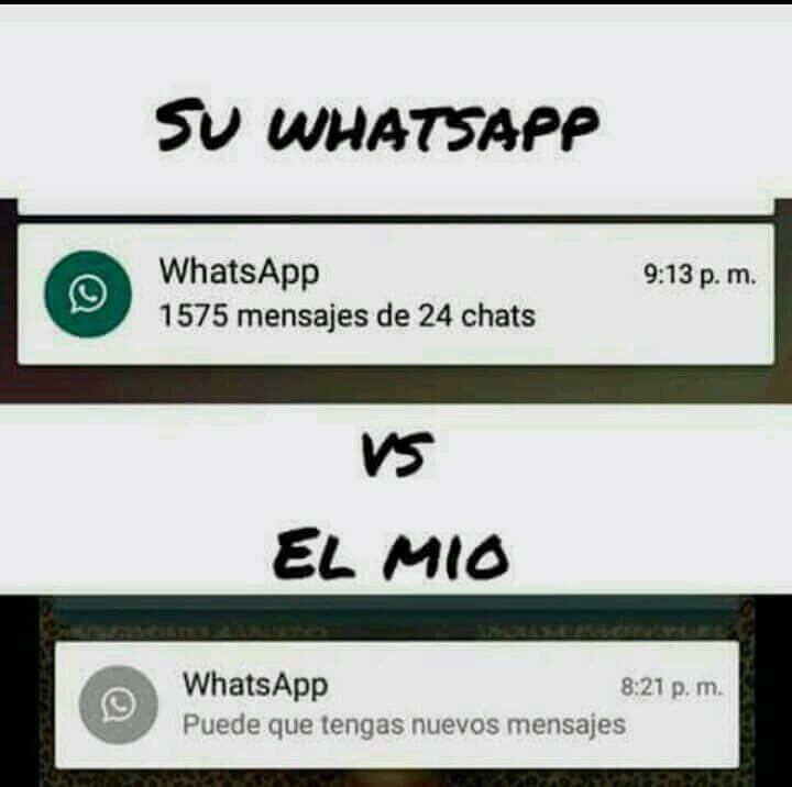Su Whatsaoo vs el mio