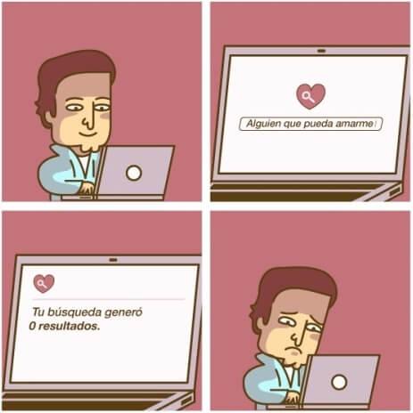 Buscando el amor online