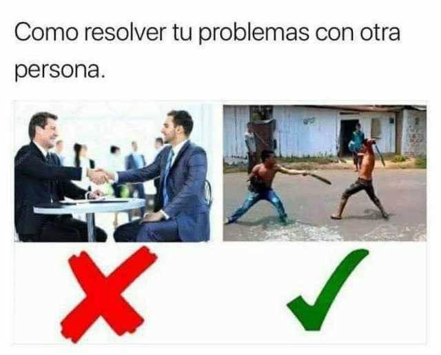 Como resolver tus problemas con otra personas