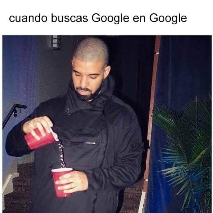 Cuando buscas google en google