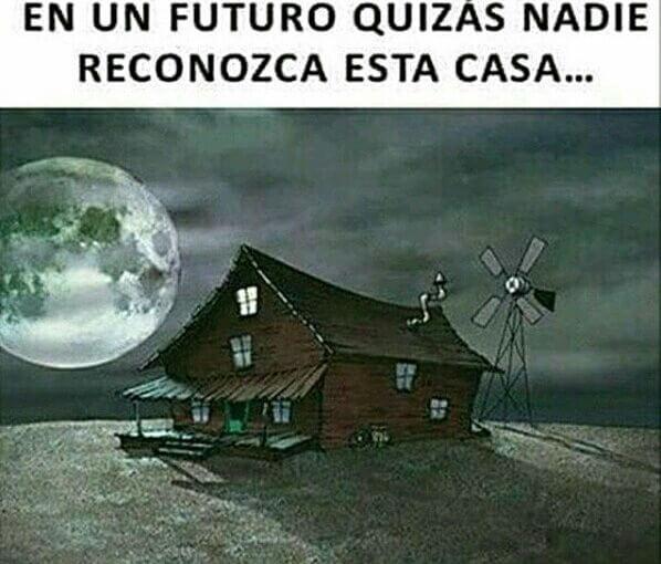 Es posible que nadie conozca esta casa en el futuro