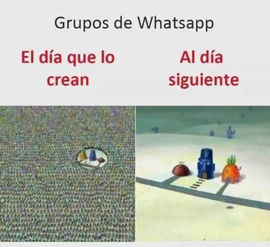 Grupos de Whatspp