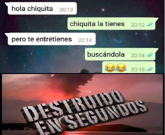 Hola chiquita