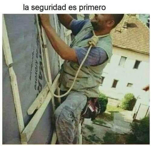 La seguridad siempre sera lo primero