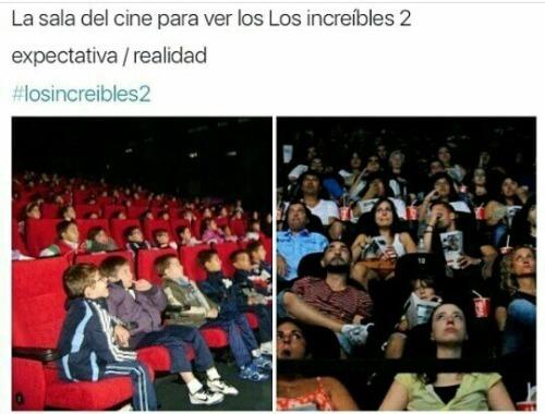 Las salas de cine para ver a los increibles 2