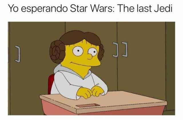 Aqui esperando la nueva Star Wars
