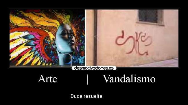 Arte vs vandalismo