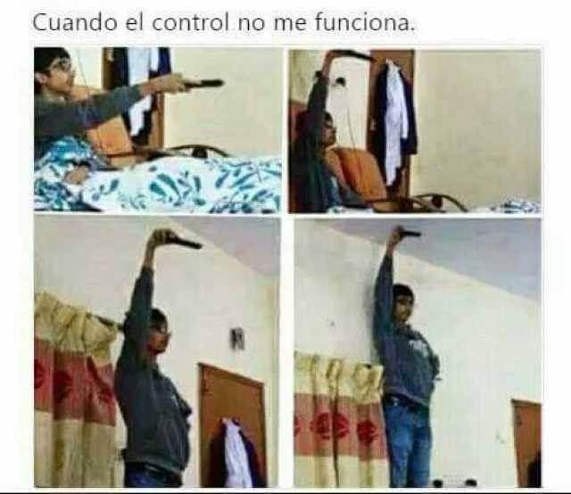 Cuando el control no funcion