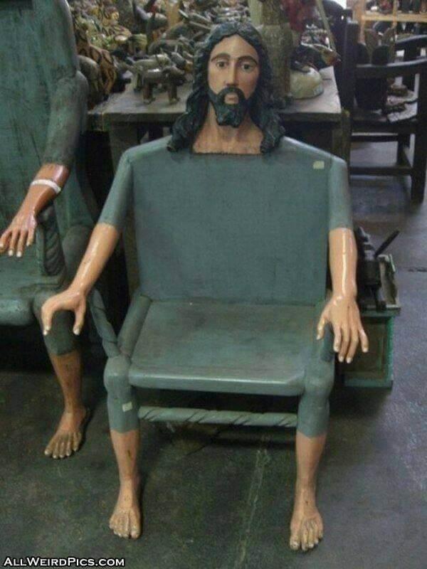 Cuando te dicen que Jesus esta en todos lados