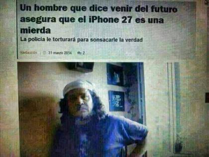 El hombre que viene del futuro
