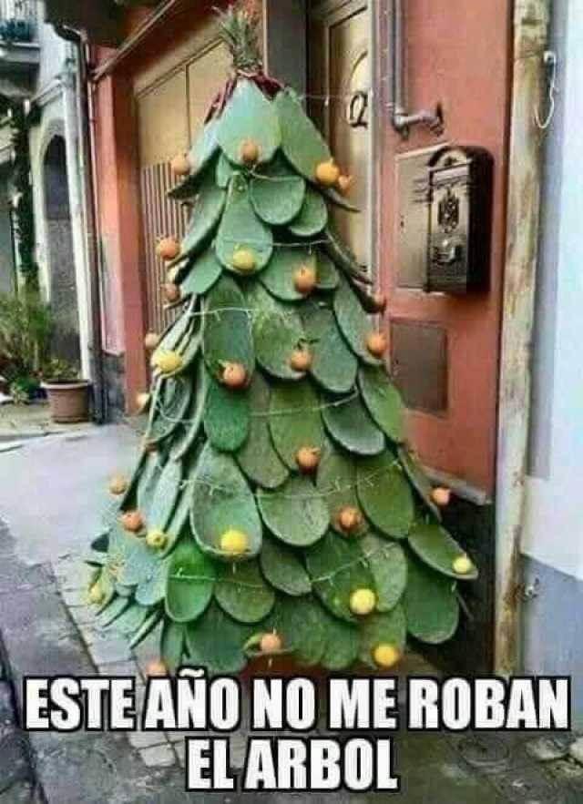 Este año si que no me roban el arbol