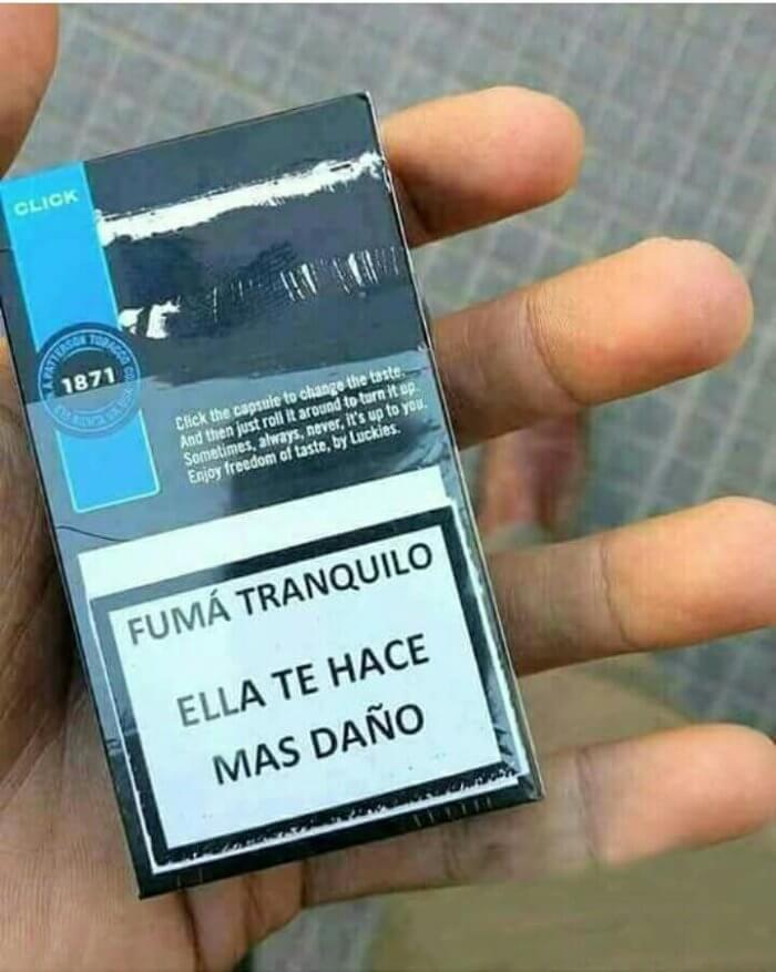Fuma tranquilo