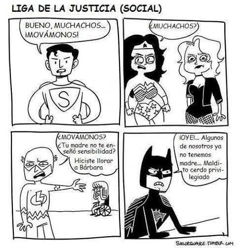 La liga de la justicia social