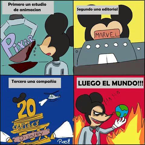 Los planes de Disney