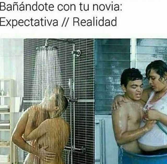 Una ducha con la novia