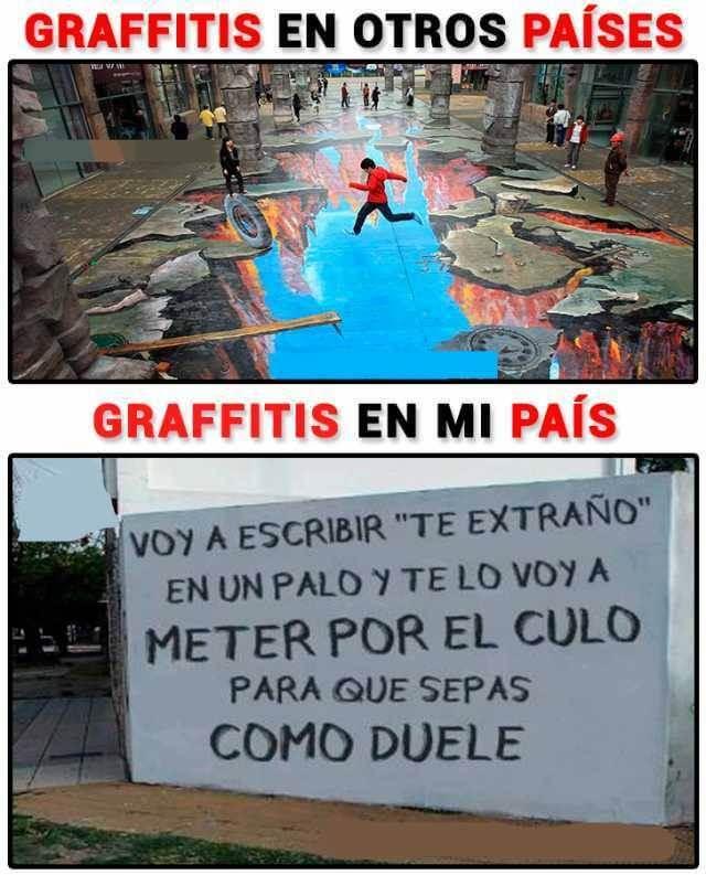 Graffitis en otros paises
