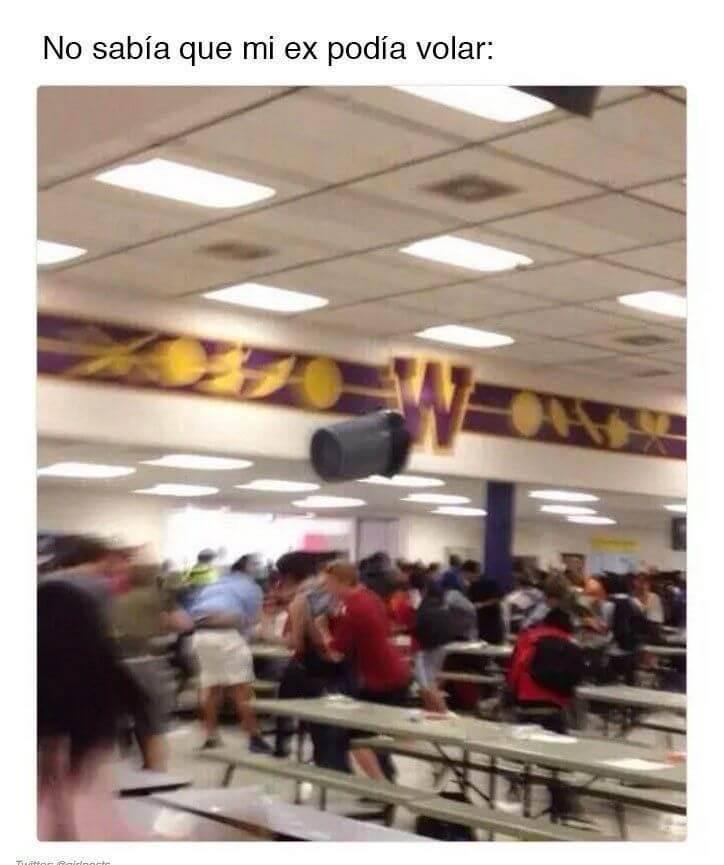 Mi ex puede volar