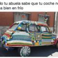 Cuando tu abuela te cuida el coche
