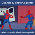 Cuando tu antivirus pirata