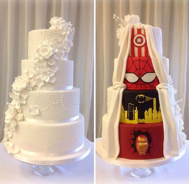 El pastel de boda ideal