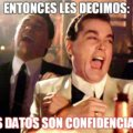 Sus datos son confidenciales