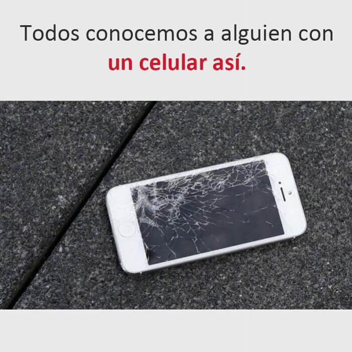 Todos conocemos a alguien con el celular asi