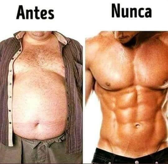 Antes vs nunca