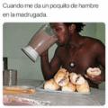 Cuando me da un poco de hambre