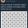 Hay 12 puntos negros
