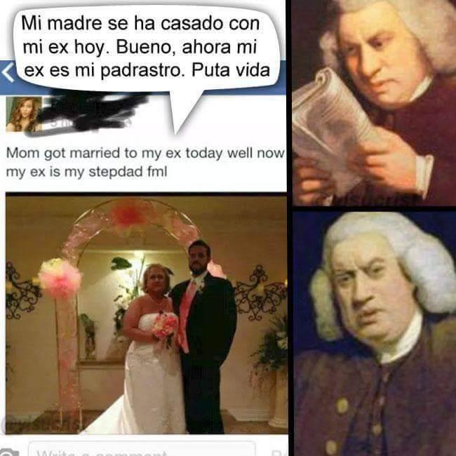 Mi madre se ha casado con mi ex